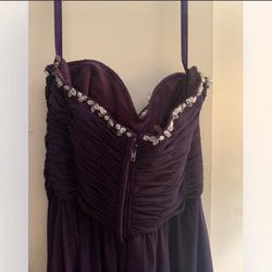 Mori Lee Purple Size 2 Straight Dress on Queenly