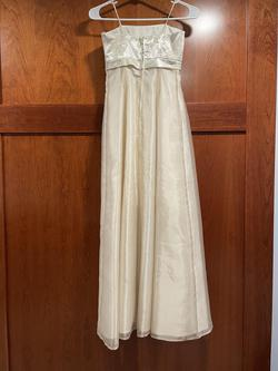 Morgan and Co. Gold Size 0 Straight Dress on Queenly