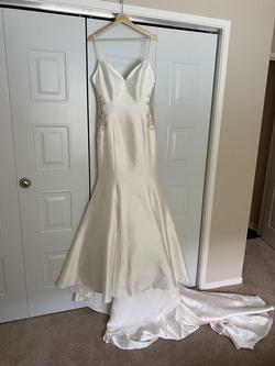 Allure Nude Size 10 Mermaid Dress on Queenly