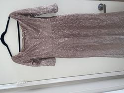 Xscape Gold Size 12 Cocktail Dress on Queenly