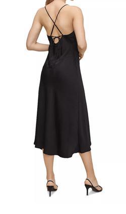 Astr Black Size 0 Side slit Dress on Queenly