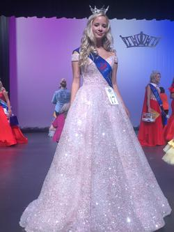 Sherri Hill Pink Size 2 Ball gown on Queenly
