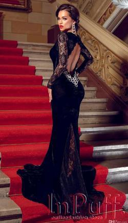Black Size 10 Mermaid Dress on Queenly