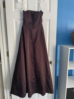 David's Bridal Multicolor Size 4 Strapless Straight Dress on Queenly