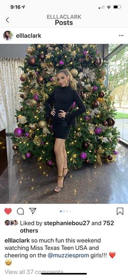 Jovani Black Size 0 Sleeves Cocktail Dress on Queenly