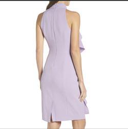 Eliza J Purple Size 8 Cocktail Dress on Queenly