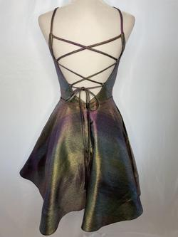 Johnathan Kayne Multicolor Size 4 Flare Custom Cocktail Dress on Queenly