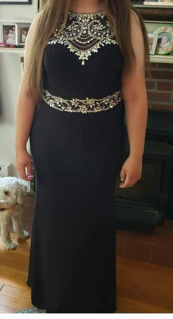 ALYCE PARIS Black Size 14 Straight Dress on Queenly