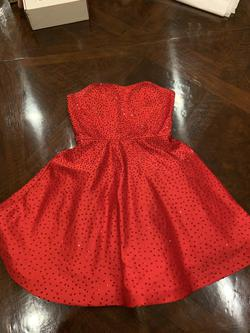 Sherri Hill Red Size 2 Jewelled A-line Dress on Queenly