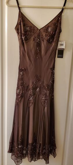 Adrianna Papell Multicolor Size 4 A-line Dress on Queenly