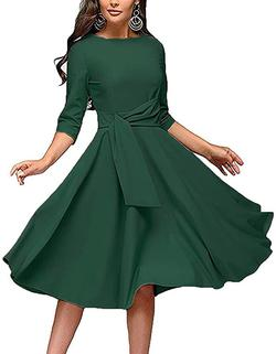 Green Size 00 A-line Dress on Queenly
