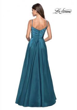 La Femme Pink Size 2 Side slit Dress on Queenly