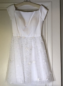 Sherri Hill White Size 2 Jewelled A-line Dress on Queenly