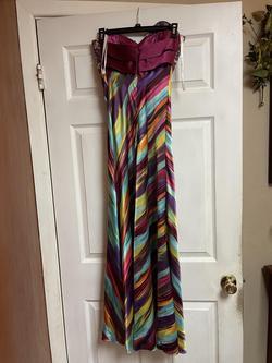 Cinderella divine Multicolor Size 4 Straight Dress on Queenly