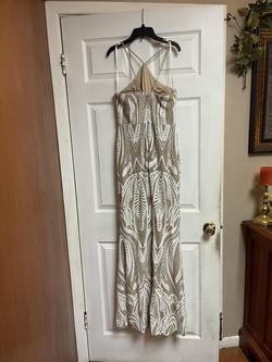 Gianna Bini Nude Size 8 Straight Dress on Queenly